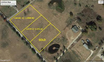 Terrell Residential Lots & Land For Sale: Lot #3 County Road 353
