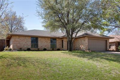 Lewisville Single Family Home Active Option Contract: 1402 Brazos Boulevard