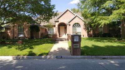 Mansfield Single Family Home For Sale: 914 Hilton Drive
