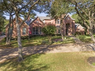 Flower Mound Single Family Home For Sale: 2817 Creek View Drive