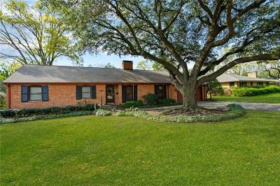 Single Family Home For Sale: 7424 Currin Drive