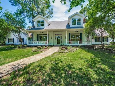 Argyle Single Family Home For Sale: 1700 E Hickory Hill Road