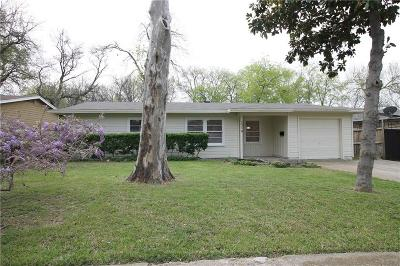 Farmers Branch Single Family Home For Sale: 2514 Wicker Avenue