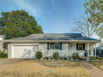 Dallas County Single Family Home For Sale: 7251 Syracuse Drive