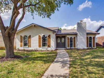 The Colony Single Family Home Active Option Contract: 5204 Pruitt Drive