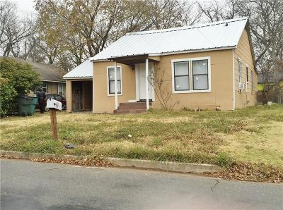 Single Family Home For Sale: 1025 S Willow Street