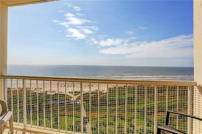 Galveston County, Harris County Condo For Sale: 1401 E Beach Drive #1110