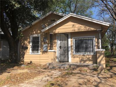Dallas Single Family Home For Sale: 2301 Dathe Street