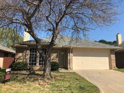 Lake Dallas Single Family Home Active Option Contract: 314 Texas Drive