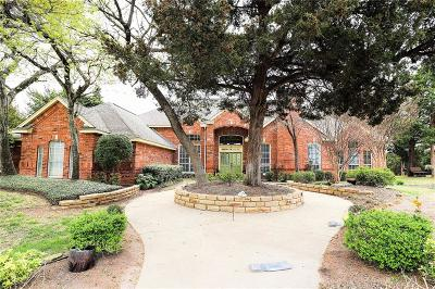 Cedar Hill Single Family Home Active Contingent: 1808 Valley View Drive