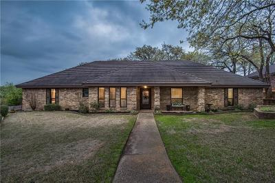 Trophy Club Single Family Home Active Option Contract: 6 Greenbriar Court