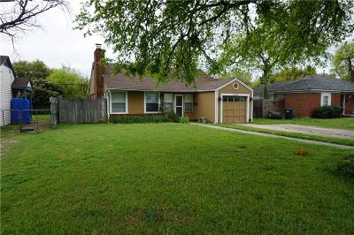 Single Family Home Active Option Contract: 6341 Calmont Avenue