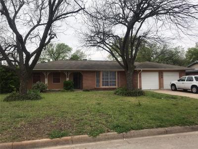 Benbrook Single Family Home For Sale: 1138 Park Center Street