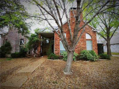 Addison Single Family Home Active Option Contract: 14847 Chancey Street