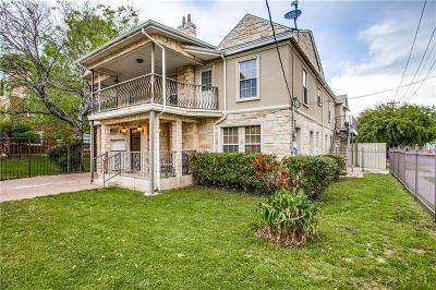 Dallas Single Family Home For Sale: 2100 Caddo Street