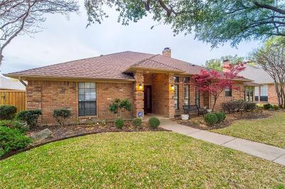 Plano Single Family Home Active Option Contract: 3904 Cross Bend Road