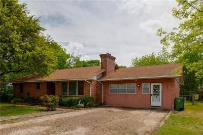 Single Family Home For Sale: 840 E Texas Street