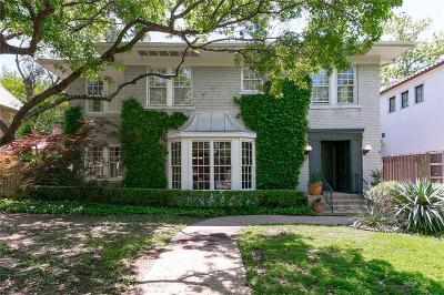 Dallas County Single Family Home For Sale: 3607 Princeton Avenue