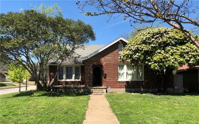 Waco Single Family Home Active Option Contract: 3029 Ethel Avenue