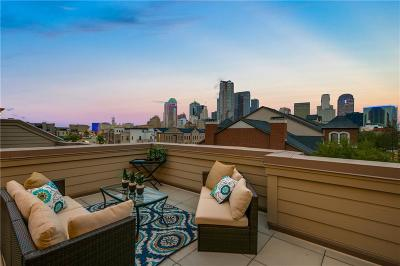 Downtown Dallas Townhouse For Sale: 2208 Marilla Street