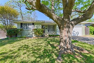 Richardson Single Family Home Active Option Contract: 1101 Lorrie Drive