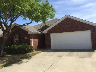 Denton Single Family Home For Sale: 5201 Parkplace Drive