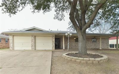 North Richland Hills Single Family Home Active Option Contract: 7751 Noreast Drive