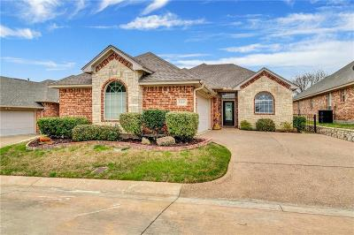 Fort Worth Single Family Home Active Option Contract: 11615 Virginia Way Court