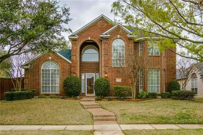 Coppell Single Family Home For Sale: 1314 Bradford Drive