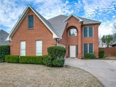 Grapevine Single Family Home Active Option Contract: 1816 Meadow Crest Drive