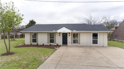 The Colony Single Family Home Active Option Contract: 7510 Lakeland Drive