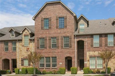 Denton County Townhouse Active Option Contract: 2825 Sheridan Drive