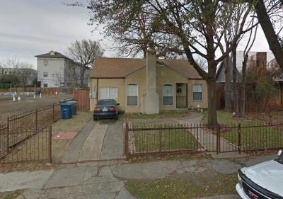 Dallas Single Family Home For Sale: 2102 N Prairie Avenue