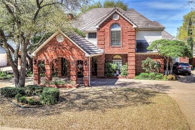 Plano Single Family Home Active Option Contract: 1817 Burning Tree Lane