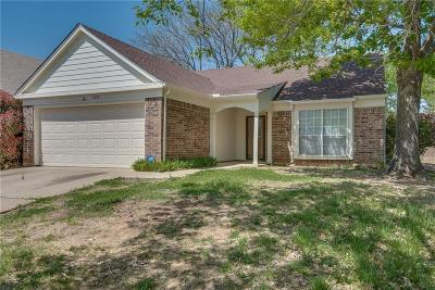 Fort Worth Single Family Home Active Option Contract: 2532 Coldstream Drive