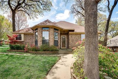 Grapevine Single Family Home Active Option Contract: 1201 Knoll Crest Court