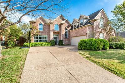 Coppell Single Family Home Active Option Contract: 744 Greenway Drive