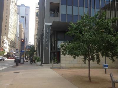 Downtown Dallas Condo For Sale: 1200 Main Street #813