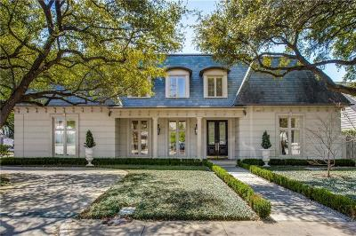 Dallas Single Family Home For Sale: 3850 N Versailles Avenue