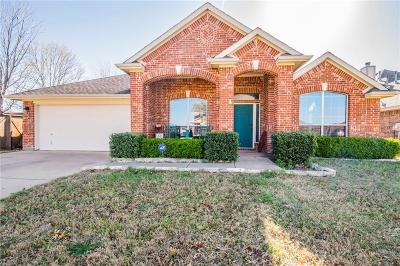 Fort Worth Single Family Home Active Option Contract: 9020 Wheatfield Trail