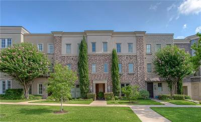 Fort Worth Townhouse For Sale: 4704 Dexter Avenue