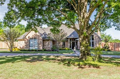 Colleyville Single Family Home Active Option Contract: 6500 Emerald Drive