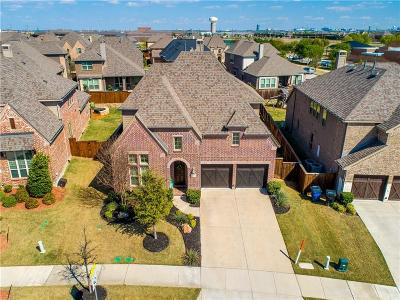Frisco Single Family Home Active Contingent: 6318 Chimney Peak Lane