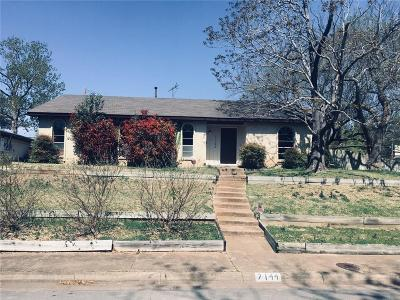Dallas County Single Family Home Active Contingent: 7144 Lyre Lane