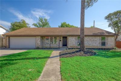 North Richland Hills Single Family Home Active Option Contract: 3432 Willowcrest Drive