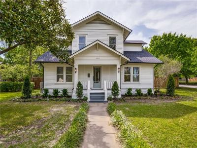 McKinney Single Family Home Active Kick Out: 605 N Waddill Street