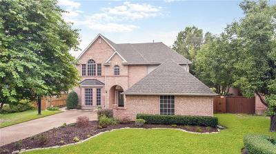 Coppell Single Family Home For Sale: 1513 Pebble Creek Drive