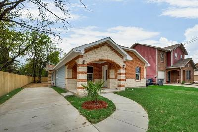 Dallas, Fort Worth Single Family Home For Sale: 4205 Cardinal Drive