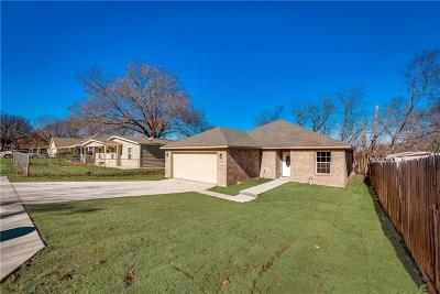 White Settlement Single Family Home For Sale: 8116 Downe Drive