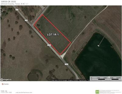 Burleson Residential Lots & Land For Sale: 10016 County Road 1016 #Lt 1